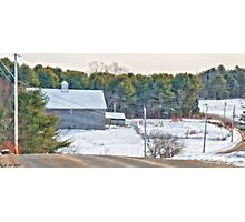 A Maine Drive Photographic Print