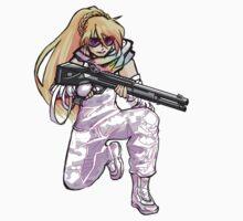 Angel with a Shotgun v2 by terrorbunny