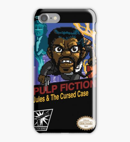 Pulp Fiction: 8 Bit Style iPhone Case/Skin