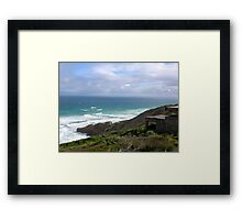 Seascape - Point Nepean, Victoria, Australia Framed Print