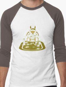 Pokerman Men's Baseball ¾ T-Shirt