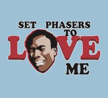Set Phasers to Love Baby Tee