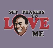 Set Phasers to Love Kids Tee