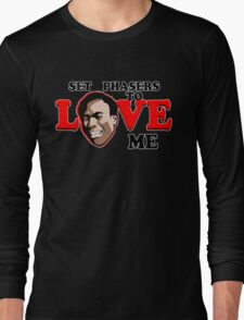 Set Phasers to Love Long Sleeve T-Shirt