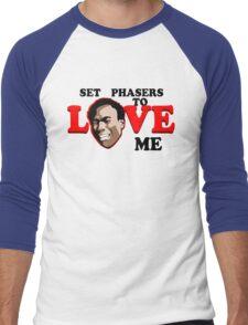 Set Phasers to Love Men's Baseball ¾ T-Shirt