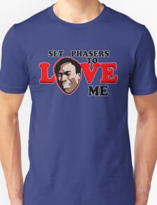 Set Phasers to Love Unisex T-Shirt