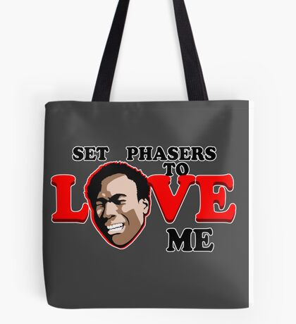 Set Phasers to Love Tote Bag