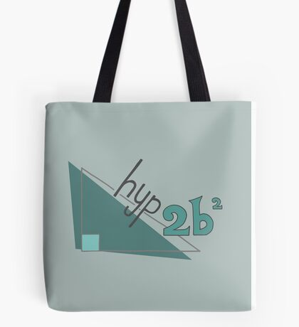 Hyp 2b(squared) - green Tote Bag