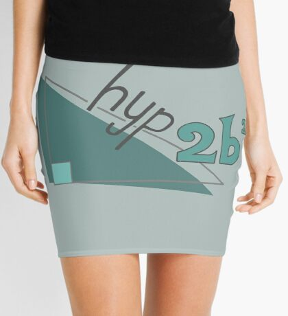 Hyp 2b(squared) - green Mini Skirt