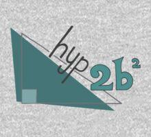 Hyp 2b(squared) - green Kids Tee