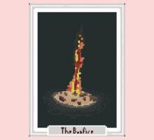 Pixel Tarot Bonfire Kids Tee