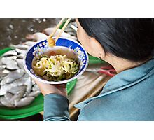 food bowl Photographic Print