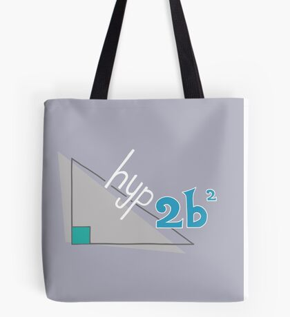 Hyp 2b(squared) - blue Tote Bag