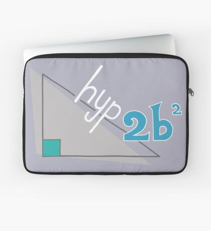Hyp 2b(squared) - blue Laptop Sleeve