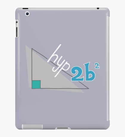 Hyp 2b(squared) - blue iPad Case/Skin