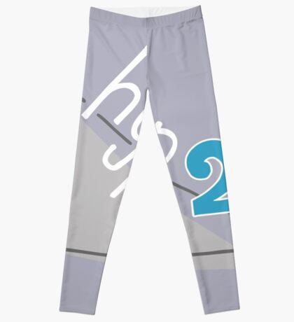 Hyp 2b(squared) - blue Leggings