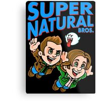 Super Natural Bros Metal Print