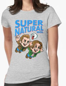Super Natural Bros Womens Fitted T-Shirt