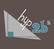 Hyp 2b(squared) - blue by funmaths