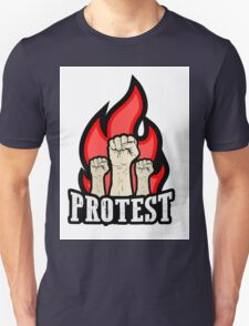raised fist held in protest T-Shirt