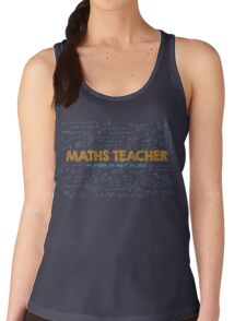Maths Teacher (no problem too big or too small) - blue T-Shirt