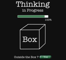 Thinking in Progress Outside the Box by Samuel Sheats