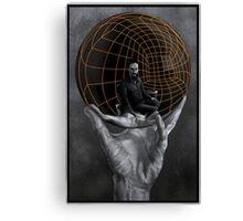 Evil Mastermind Canvas Print