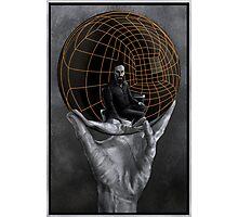 Evil Mastermind Photographic Print