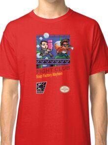 Fight Club 8 bit Style Classic T-Shirt
