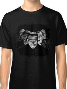 Classic Monsters Black & White POP! Classic T-Shirt