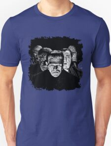 Classic Monsters Black & White POP! Unisex T-Shirt