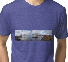 The Red Shed Panorama Tri-blend T-Shirt
