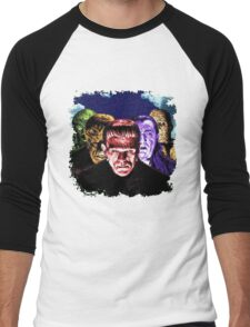 Classic Monsters COLOR POP! Men's Baseball ¾ T-Shirt