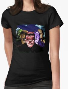 Classic Monsters COLOR POP! Womens Fitted T-Shirt