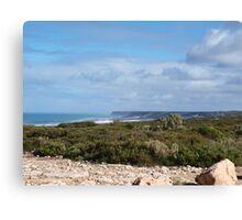 Great Austrailan Bight, via Nullarbor , Ceduna  Canvas Print