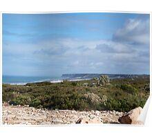 Great Austrailan Bight, via Nullarbor , Ceduna  Poster