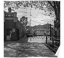Bendigo Electric Tram Depot Poster