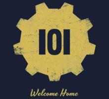 Welcome Home - 101 Kids Tee