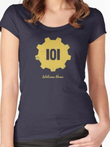 Welcome Home - 101 Women's Fitted Scoop T-Shirt