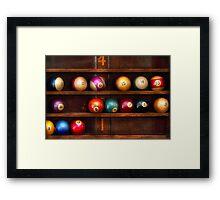 Hobby - Pool - Let's play billiards Framed Print