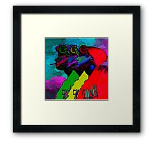 I Watched My Brain Turn Ashtray Framed Print