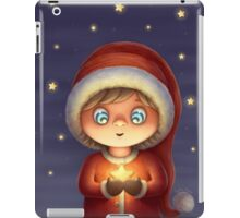 Noel girl work 1 iPad Case/Skin