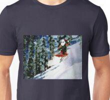 SANTA CATCHING SOME AIR Unisex T-Shirt