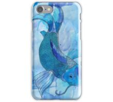 Blue Koi iPhone Case/Skin