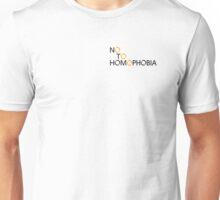 No to Homophobia Unisex T-Shirt