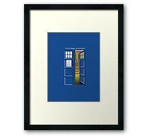 Doctor Who Tardis Bigger Inside Framed Print
