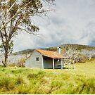 Bradleys & O'Briens Hut, Kosciuszko, New South Wales, Australia by Michael Boniwell