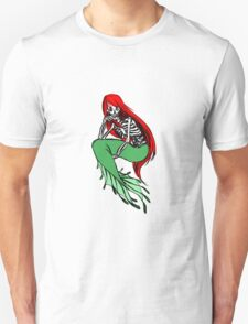Mermaid Skeleton 1 Unisex T-Shirt