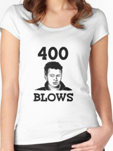 "Francois Truffaut's ""400 Blows Women's Fitted Scoop T-Shirt"