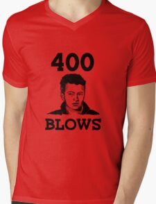 "Francois Truffaut's ""400 Blows Mens V-Neck T-Shirt"